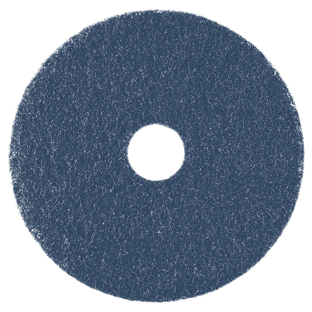 "Scrubble by ACS 75-17 17"" Midnight Blue Super Stripping Pad - Type 75 5 / Case"