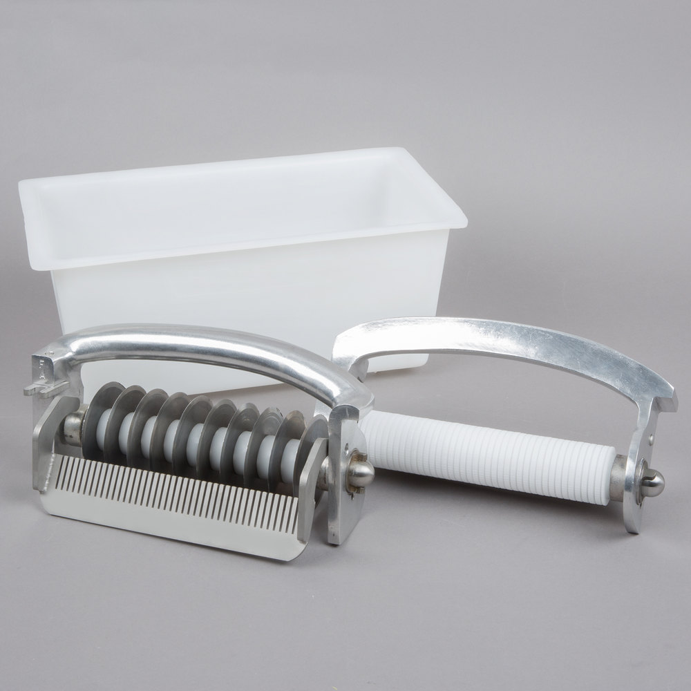 "Hobart JUL-NARROW Narrow 3/16"" Julienne Liftout Unit and Storage Holder for 403 Meat Tenderizer"