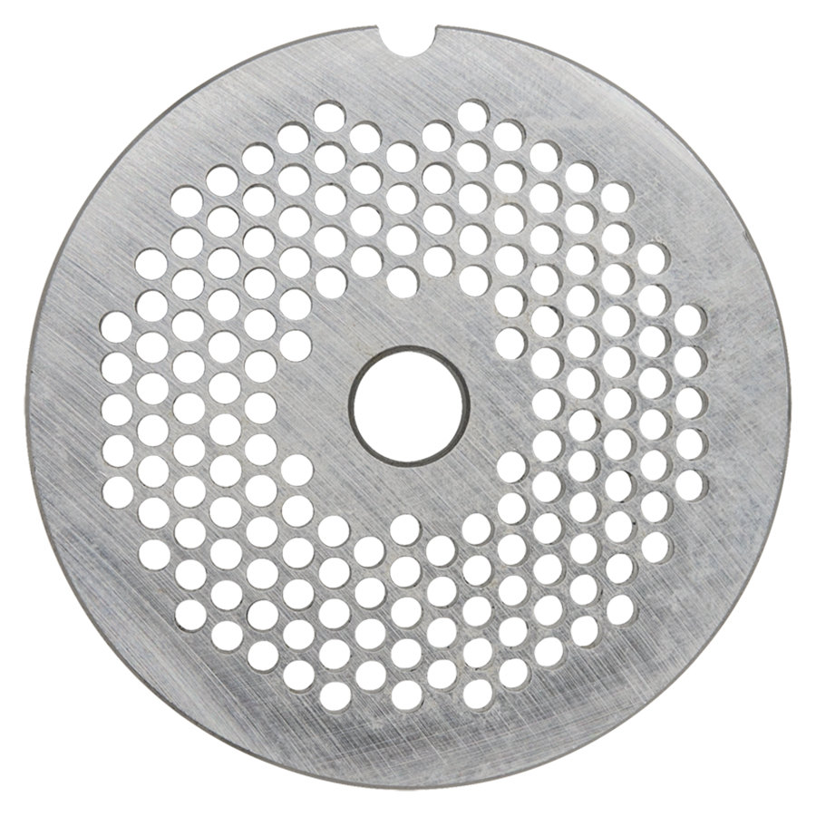 "Hobart 12PLT-1/8S #12 1/8"" Stay Sharp Grinder Plate for 4812 Meat Choppers and Chopping Ends"
