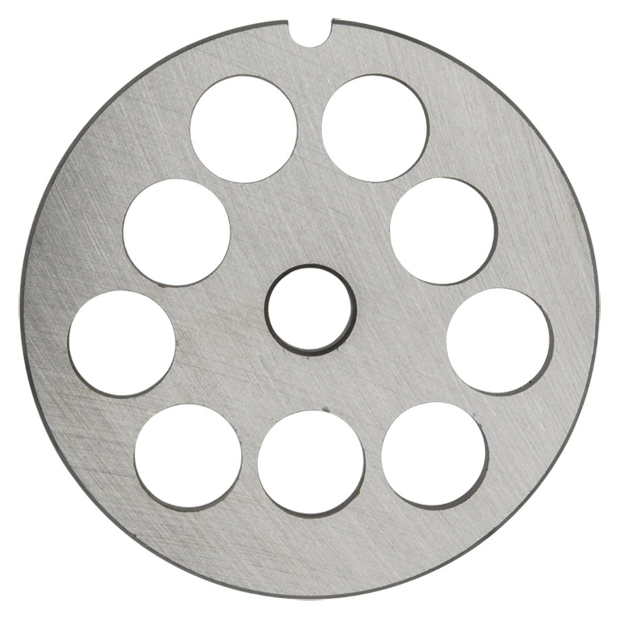 "Hobart 12PLT-5/8C #12 5/8"" Carbon Steel Grinder Plate for 4812 Meat Choppers and Chopping Ends"