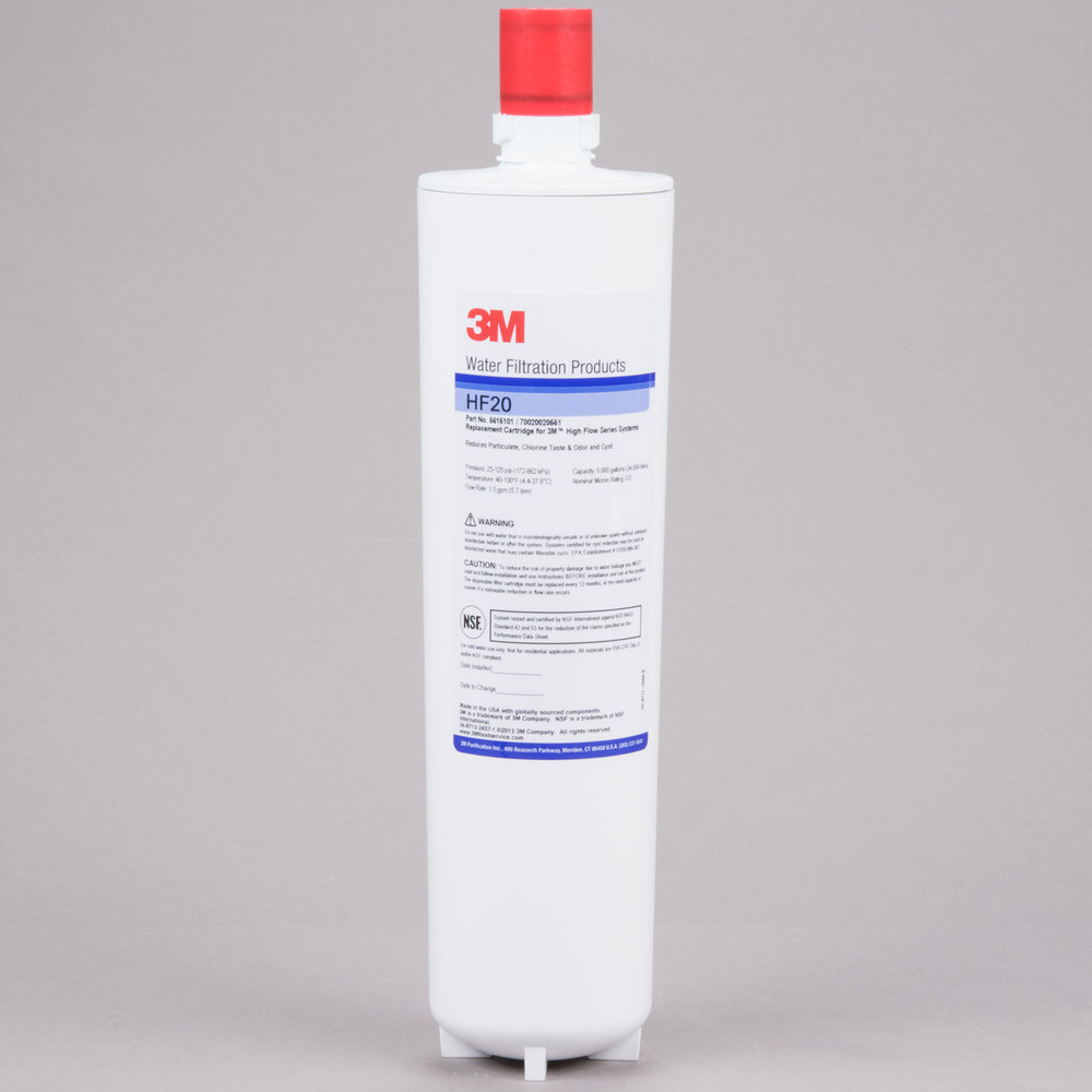 3M Cuno HF20 Sediment, Cyst, Chlorine Taste and Odor Reduction Cartridge - 0.5 Micron and 1.5 GPM