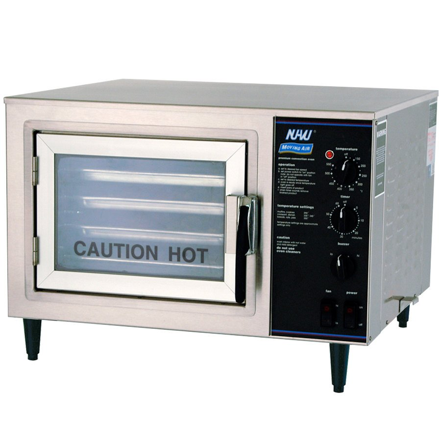 Countertop Oven Parts : NU-VU XO-1 Half Size Electric Countertop Convection Oven