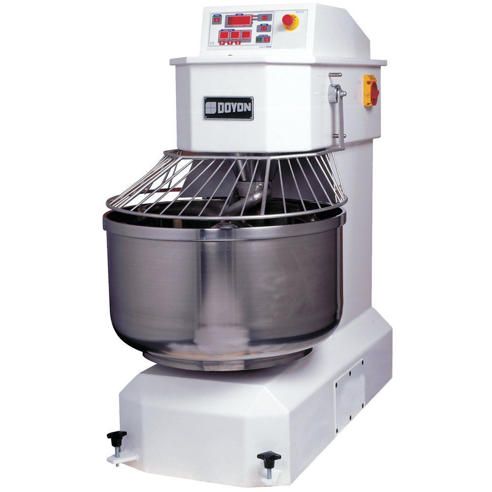 Doyon AEF050 175 lb. Spiral Dough Mixer with 100 Qt. Bowl - 208-240V, 3 Phase, 7 hp