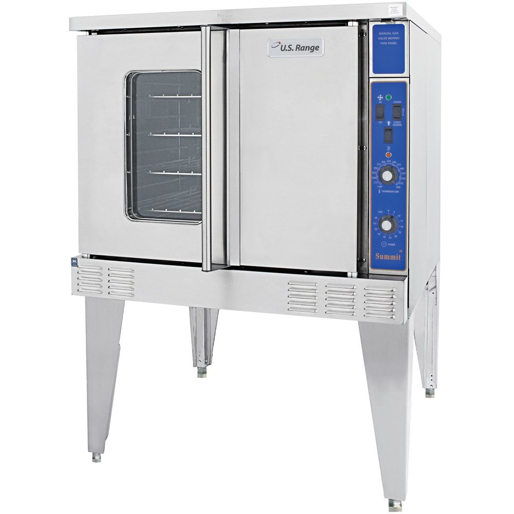 Garland / U.S. Range SUMG-100 Summit Series Single Deck Full Size Gas Convection Oven - 53,000 BTU