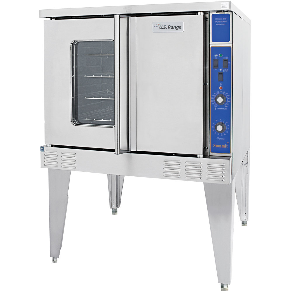 Garland / U.S. Range SUMG-200 Summit Series Double Deck Full Size Gas Convection Oven - 106,000 BTU