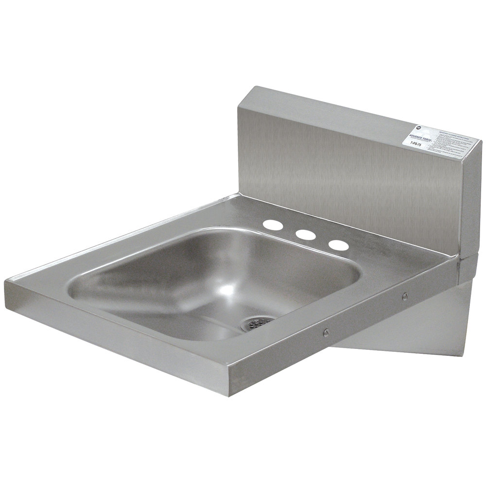 "Advance Tabco 7-PS-75 Hand Sink - 20"" x 24"""