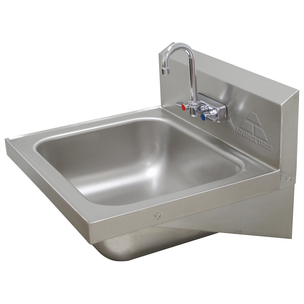 Advance Tabco 7-PS-49 Hand Sink with Splash Faucet - 19\