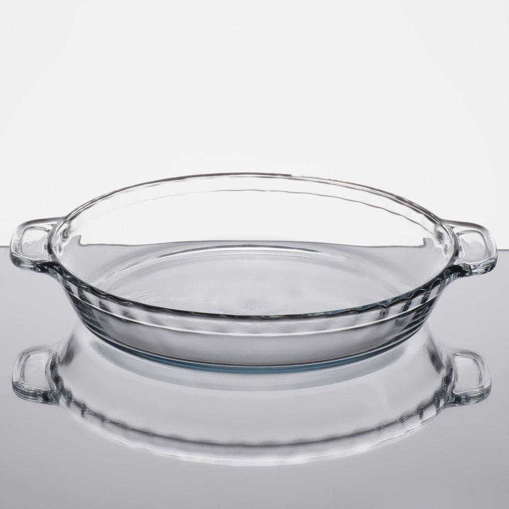 metal pie pan vs glass