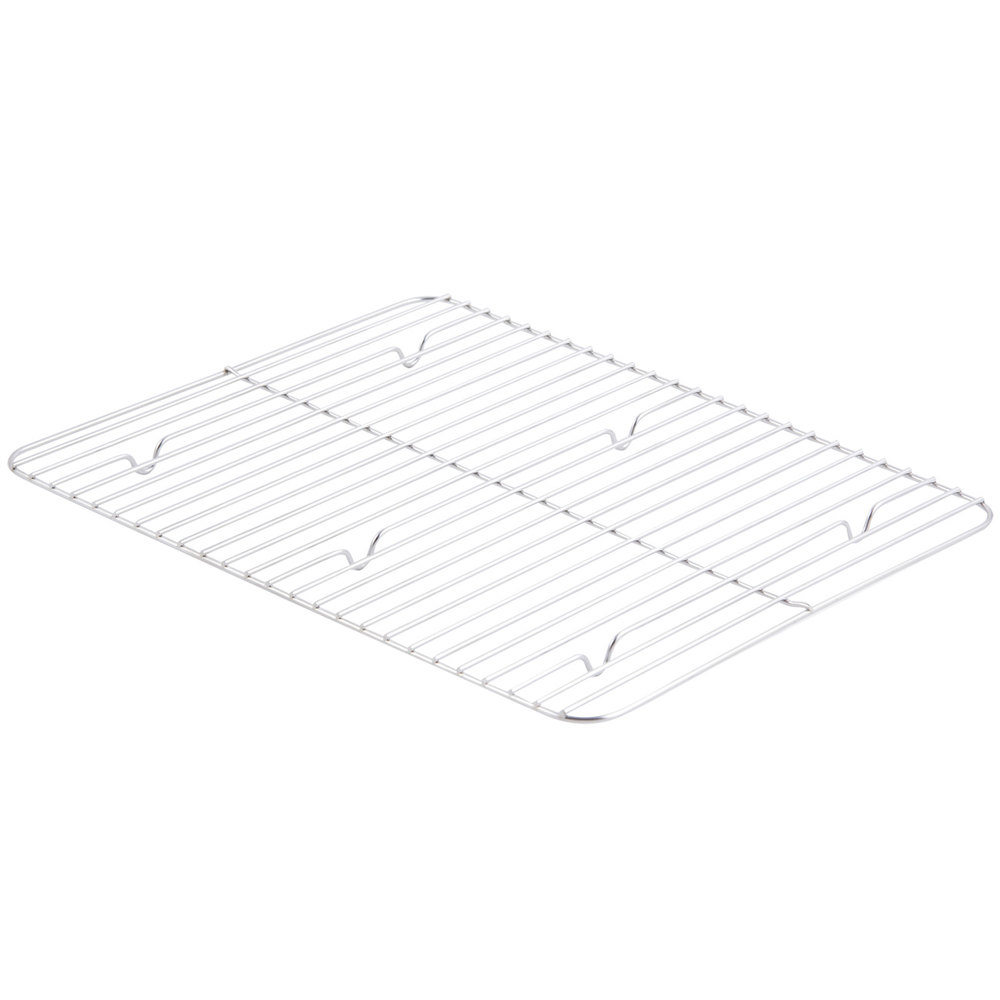 "Bon Chef 60012G Stainless Steel Grill for Cucina Large Food Pan - 13 3/4"" x 11"""