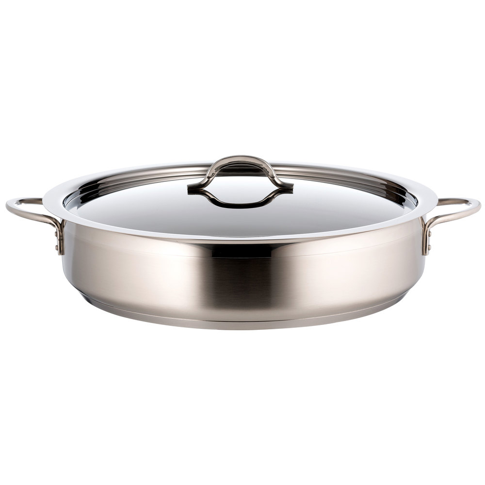 Bon Chef 60032 Cucina 9 Qt. Brazier Pot with Cover