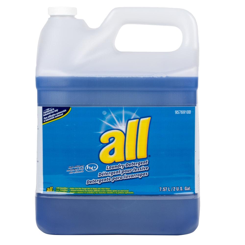 2 Gallon Diversey 95769100 All High Efficiency Liquid