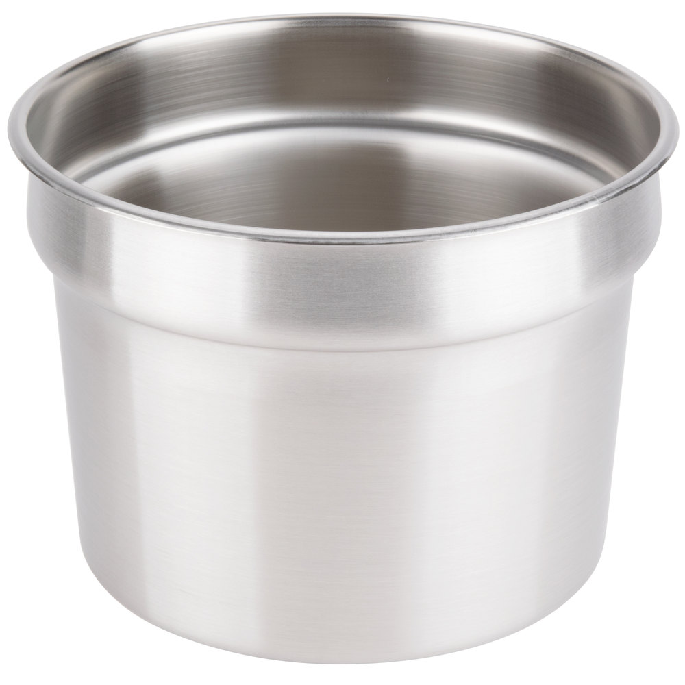 Vollrath 78204 Stainless Steel 11 Qt. Vegetable Inset