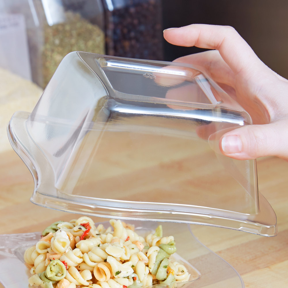Fineline Wavetrends 105-L Clear Dome Lid for 5 oz. Bowl - 120/Case