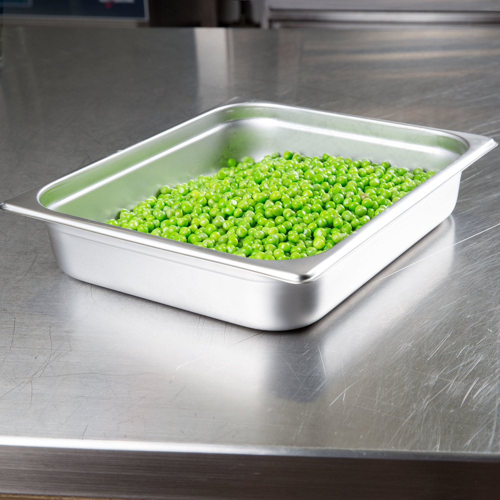 Stainless Steel 1/2 Size Food Pan