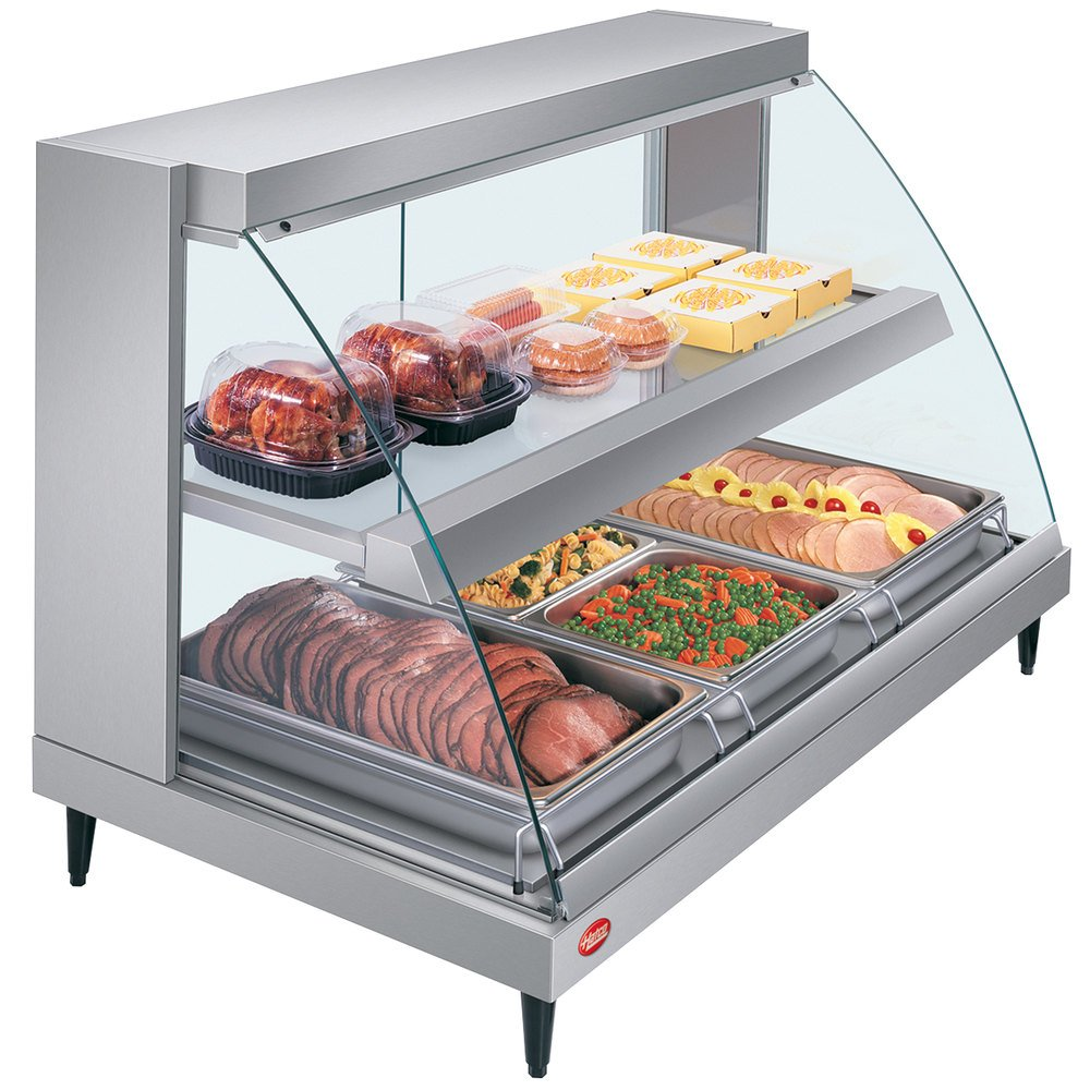 1112688 hatco grcd 3pd glo ray two shelf full service heated display case Hatco Food Warmer Equipment at bakdesigns.co