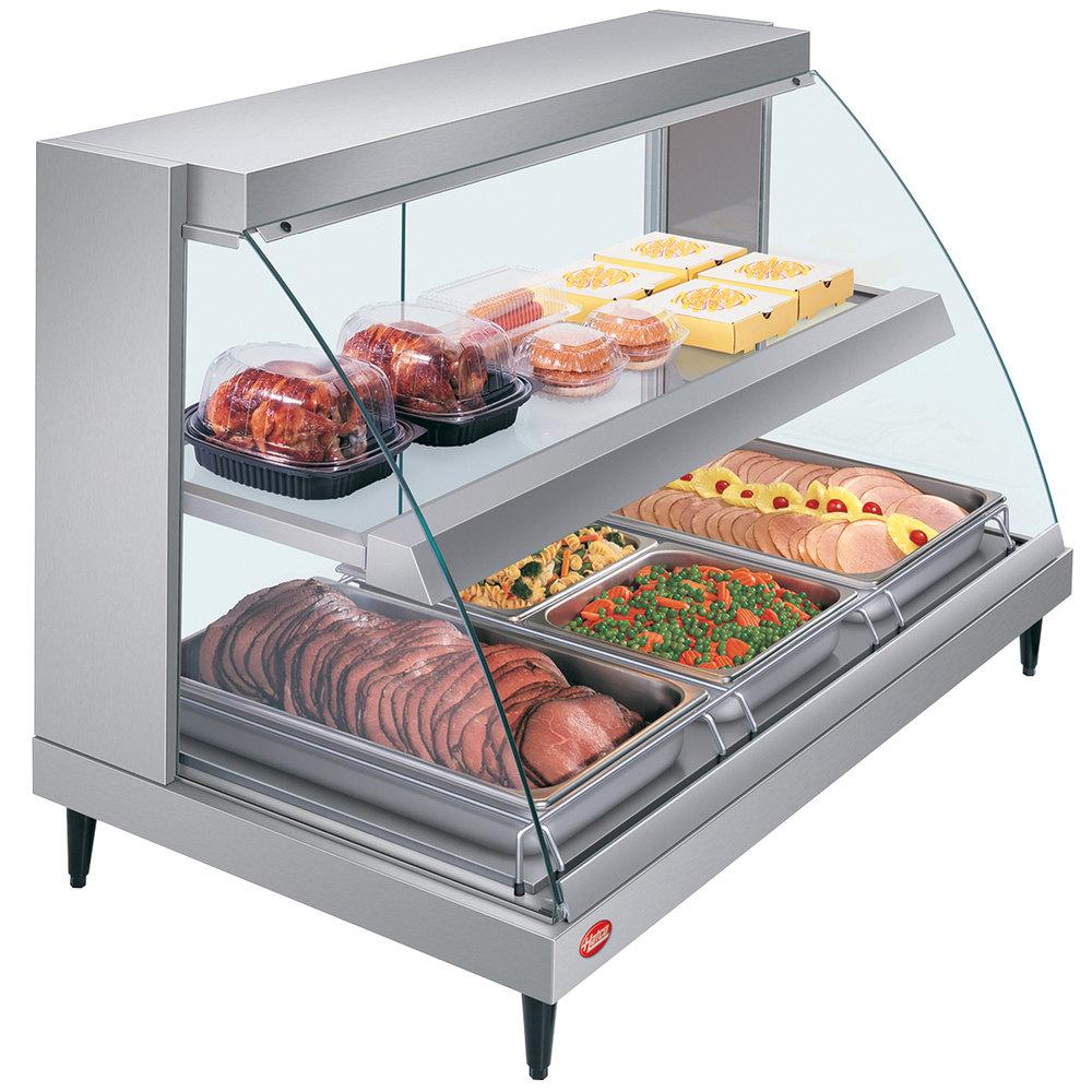 Food Warmer Display Case ~ Hatco grcd pd glo ray two shelf full service heated