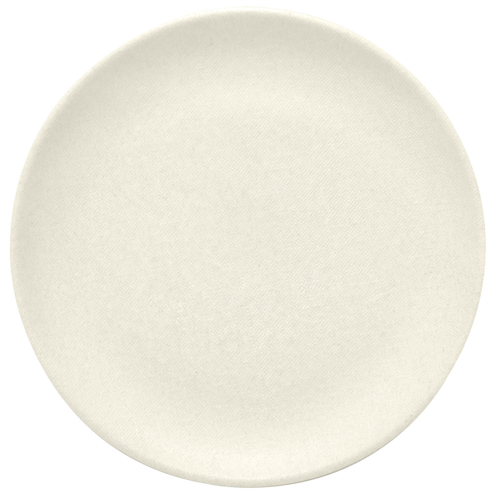 "Elite Global Solutions ECO1111R Greenovations 11"" Papyrus-Colored Round Plate"