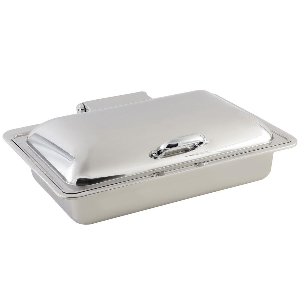 Bon Chef 20305 8 Qt Rectangular Induction Chafing Dish