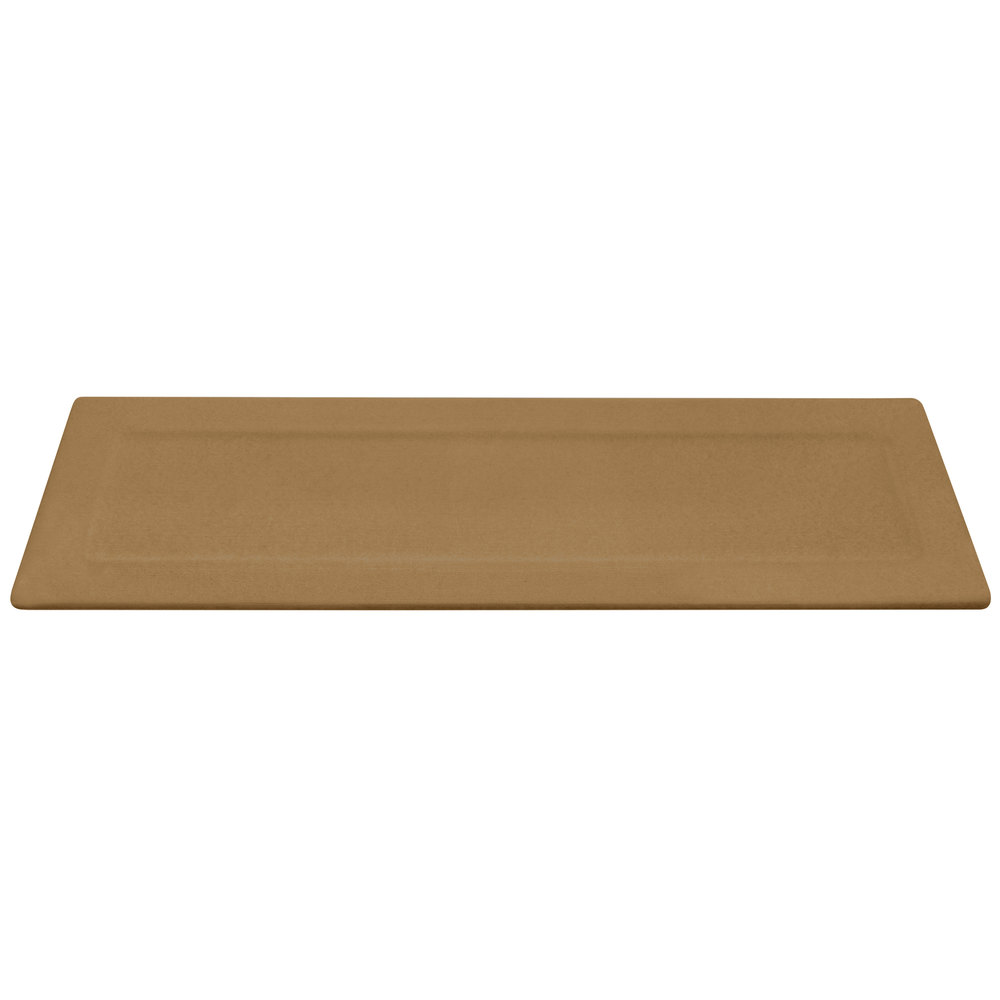"Elite Global Solutions ECO516 Greenovations Paper Bag-Colored 16"" x 5 1/4"" Rectangular Platter"