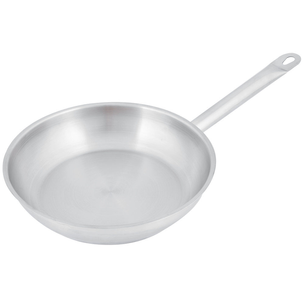 Stainless Steel Metal Cladding : Quot aluminum clad stainless steel fry pan