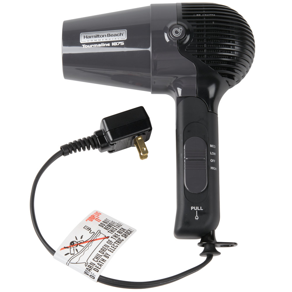 hamilton beach hhd600 hair dryer with retractable cord 1875w. Black Bedroom Furniture Sets. Home Design Ideas