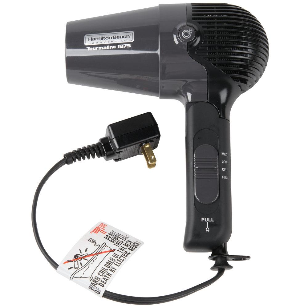 hamilton beach hhd600 hair dryer with retractable cord 1875w. Black Bedroom Furniture Sets. Home Design Ideas
