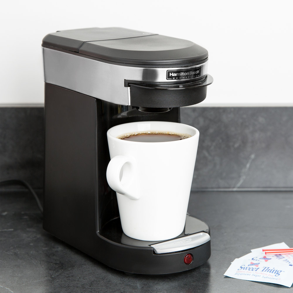 Coffee Maker For Pods : Hamilton Beach HDC200S-CE Single Serving Pod Coffee Maker - 230V, 500W (International Use Only)