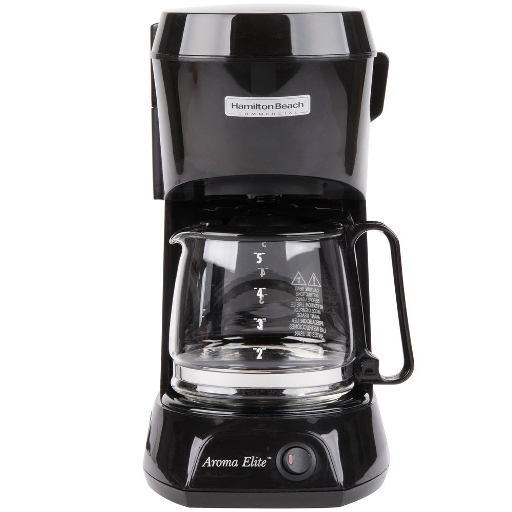 Coffee Maker Automatic Shut Off : Hamilton Beach HDC500C 4 Cup Coffee Maker with Auto Shut Off and Glass Carafe - 120V, 550W