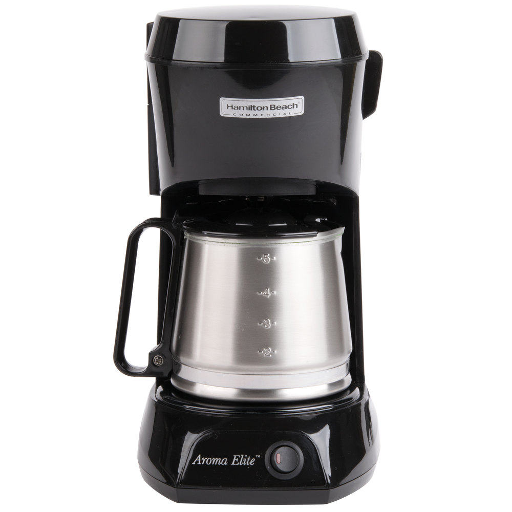 Coffee Maker Automatic Shut Off : Hamilton Beach HDC500CS 4 Cup Coffee Maker with Auto Shut Off and Stainless Steel Carafe - 120V ...