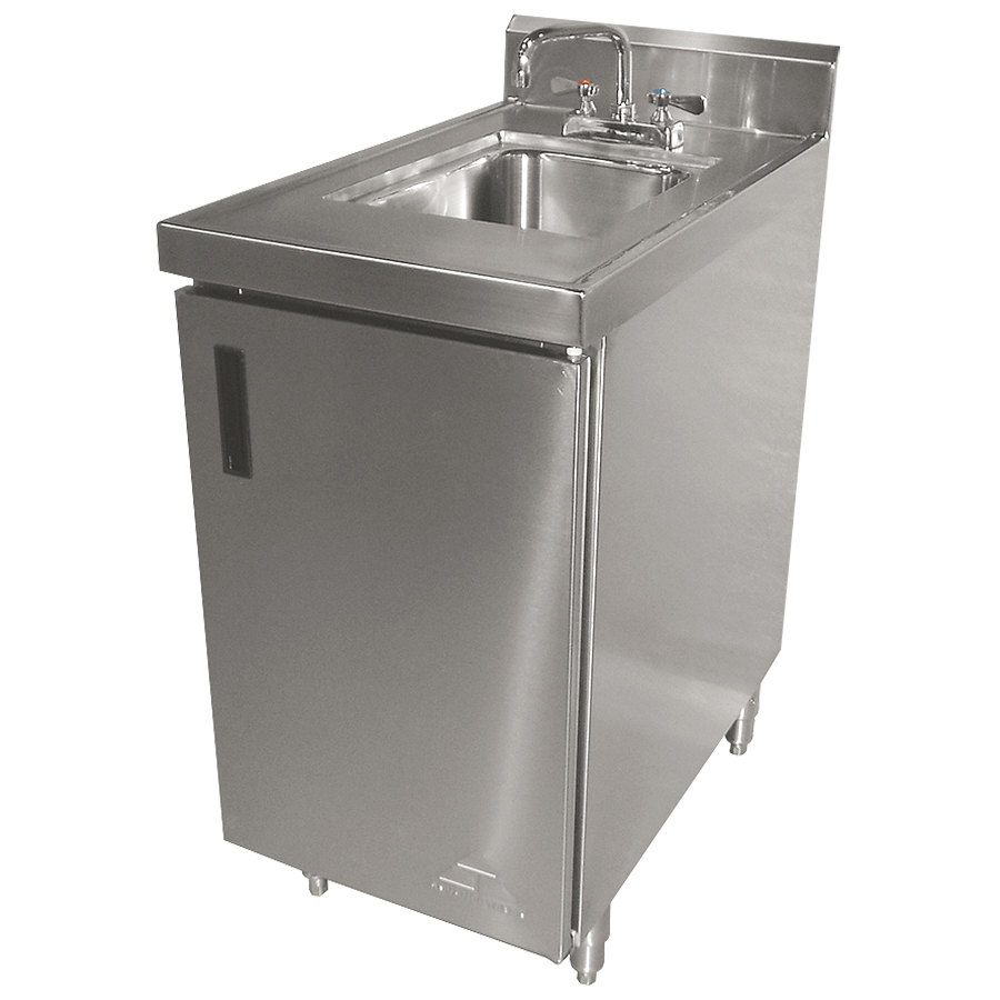 advance tabco shk 302 stainless steel sink cabinet 24
