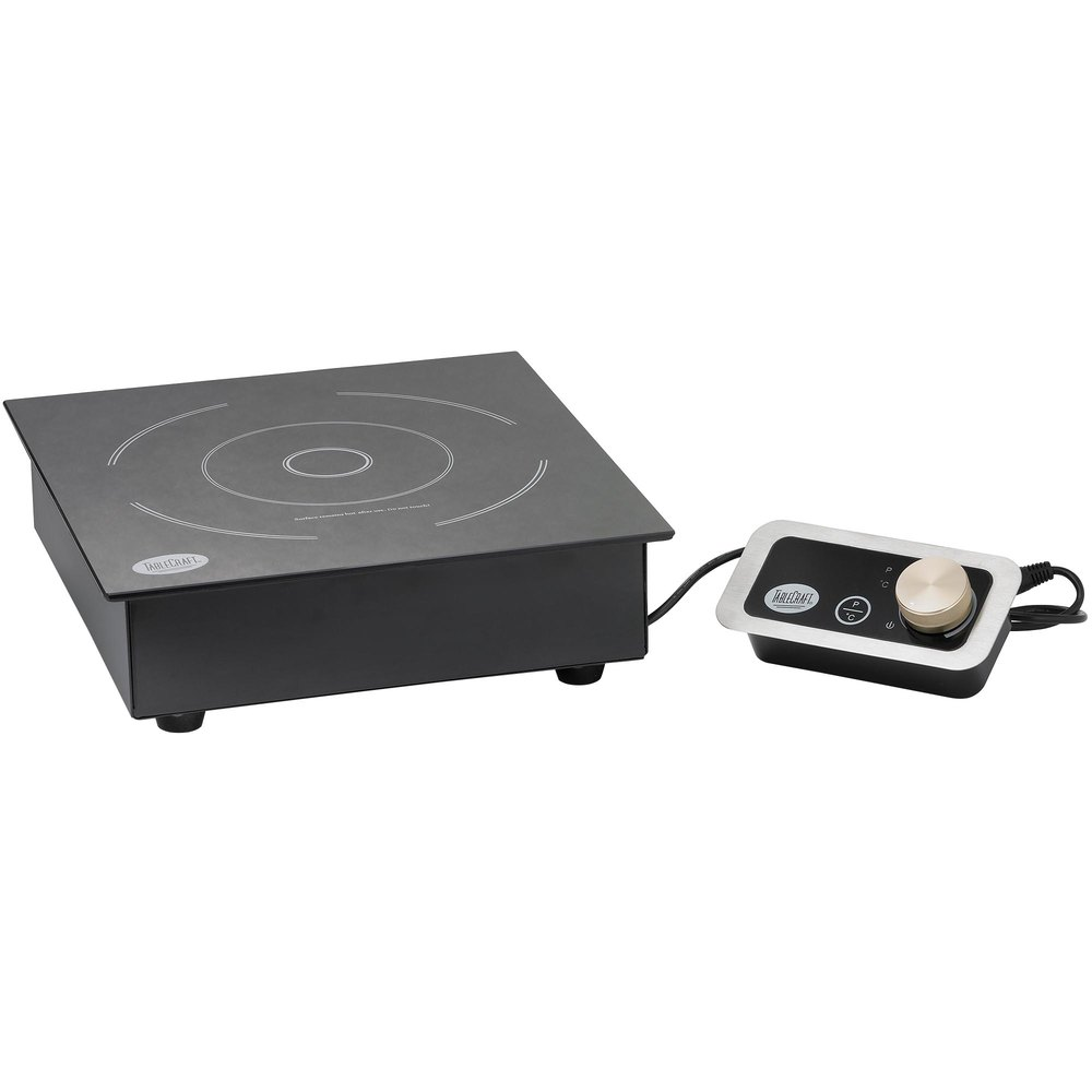 Countertop Drop In Stove : Tablecraft CW40196 Drop In / Countertop Induction Range - 120V, 1800W