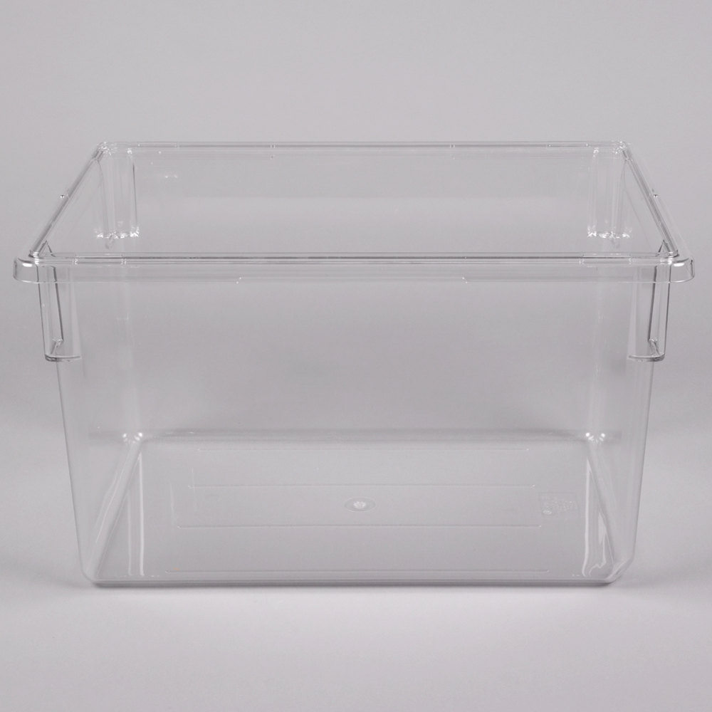 Cambro 182615cw135 Clear Camwear Clear Polycarbonate Food