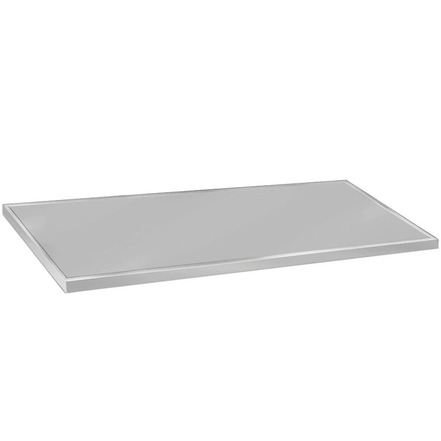"Advance Tabco VCTC-245 25"" x 60"" Flat Top Stainless Steel Countertop"