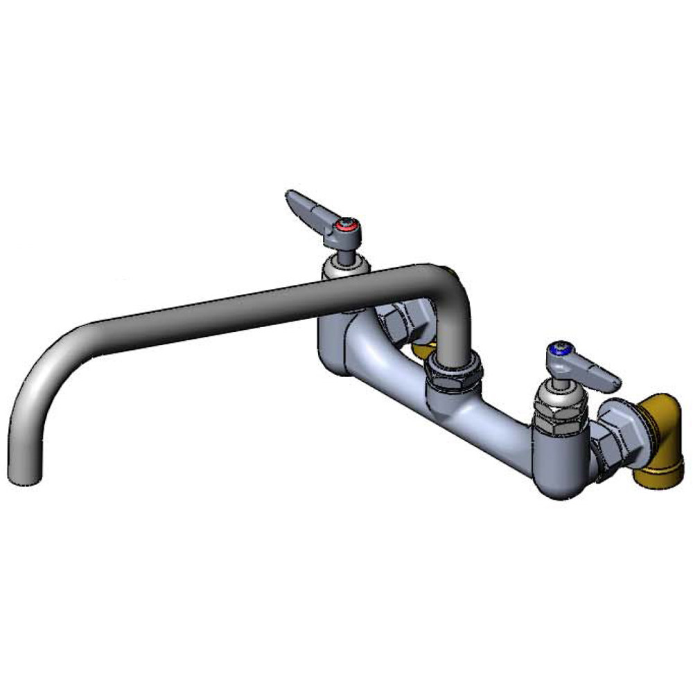 Pot Sink Faucet : 0290-01 Wall Mount Kettle and Pot Sink Mixing Faucet with 8 ...