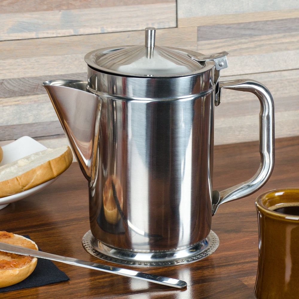 64 Oz Stainless Steel Coffee Server
