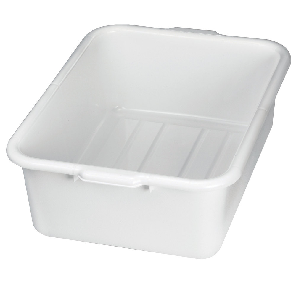 Tablecraft 1537w White 21 Quot X 16 Quot X 7 Quot Polyethylene Plastic