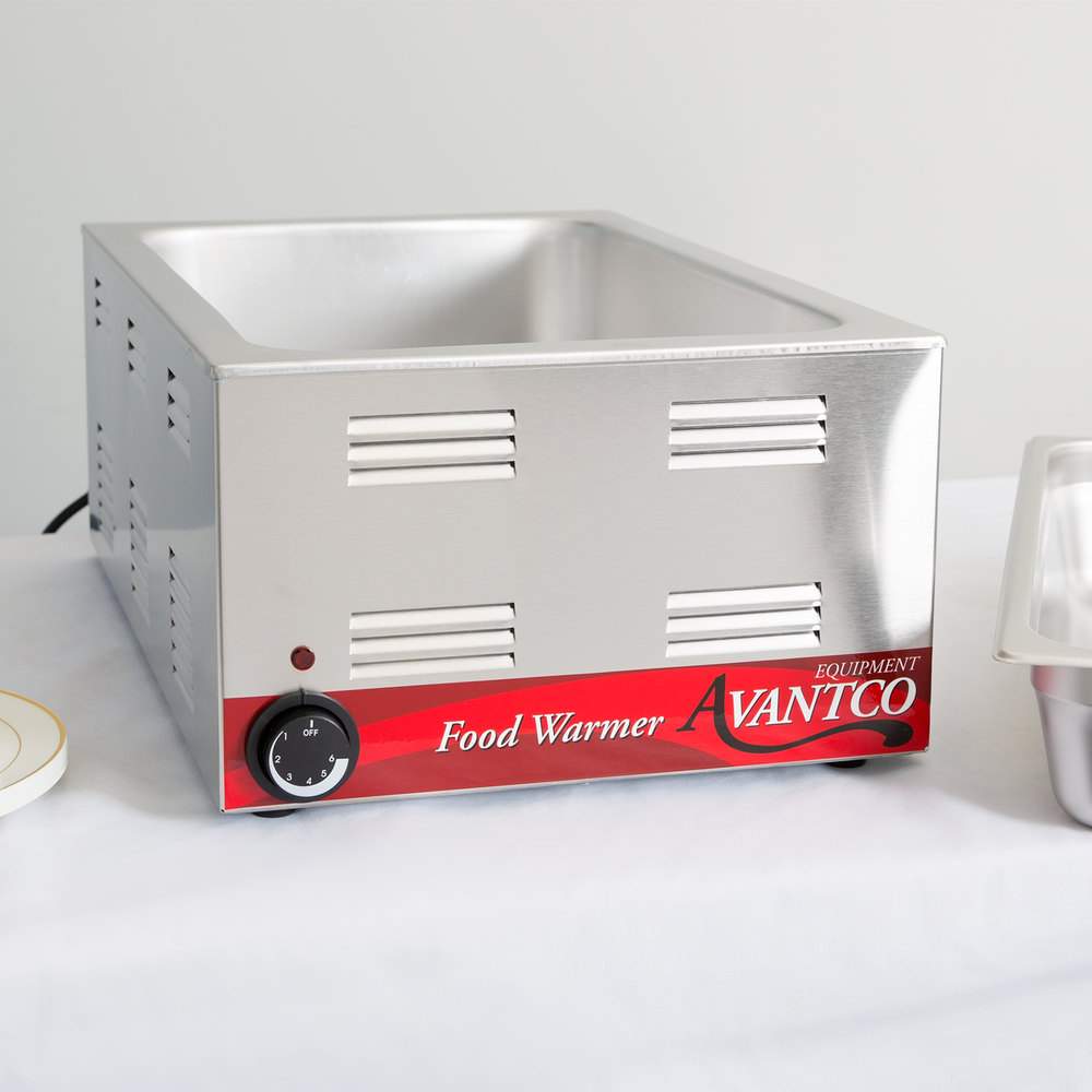 Stainless Steel Food Warmers ~ Stainless steel qt electric food warmer w