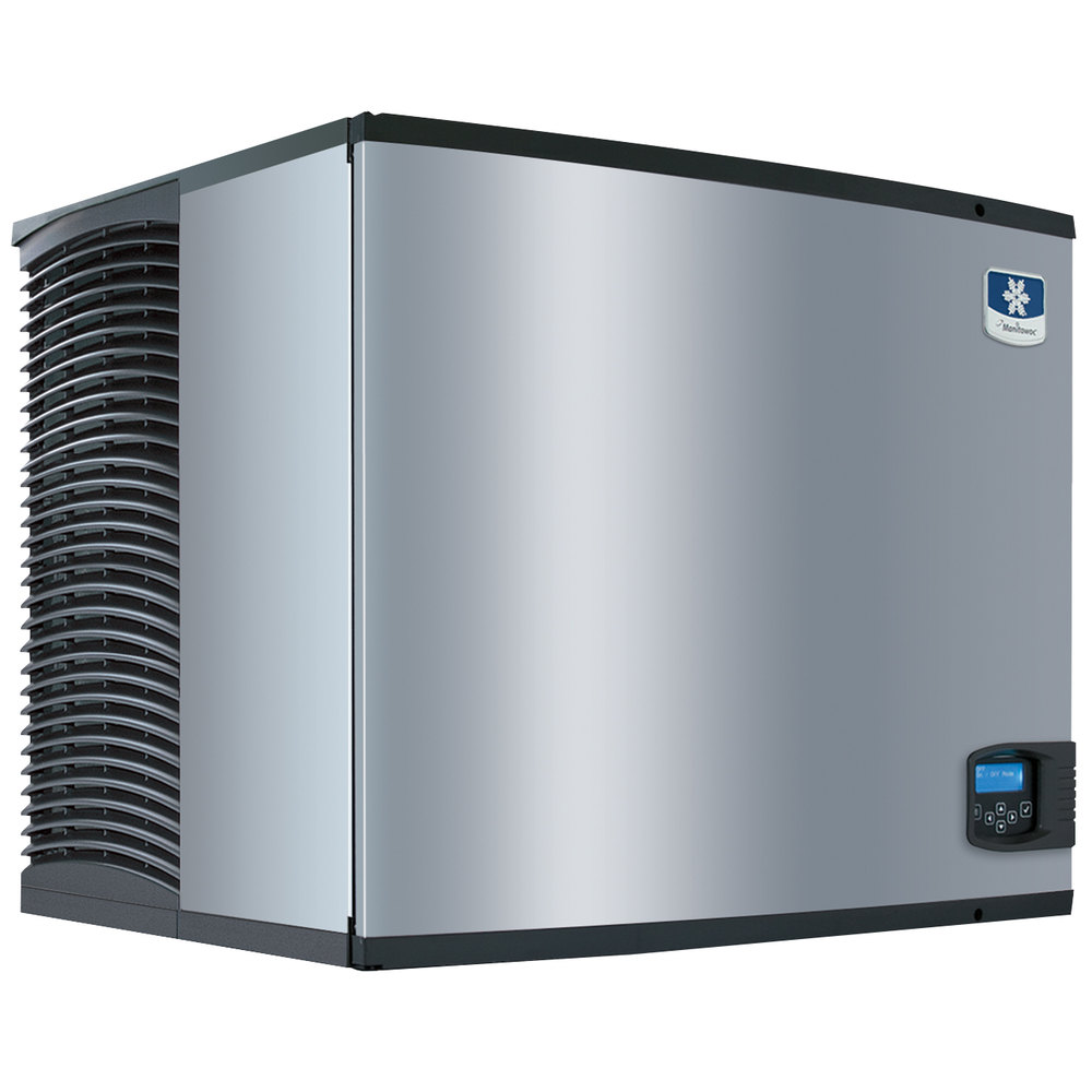 "Manitowoc IY-0906W Indigo Series 30"" Water Cooled Half Size Cube Ice Machine - 879 lb."