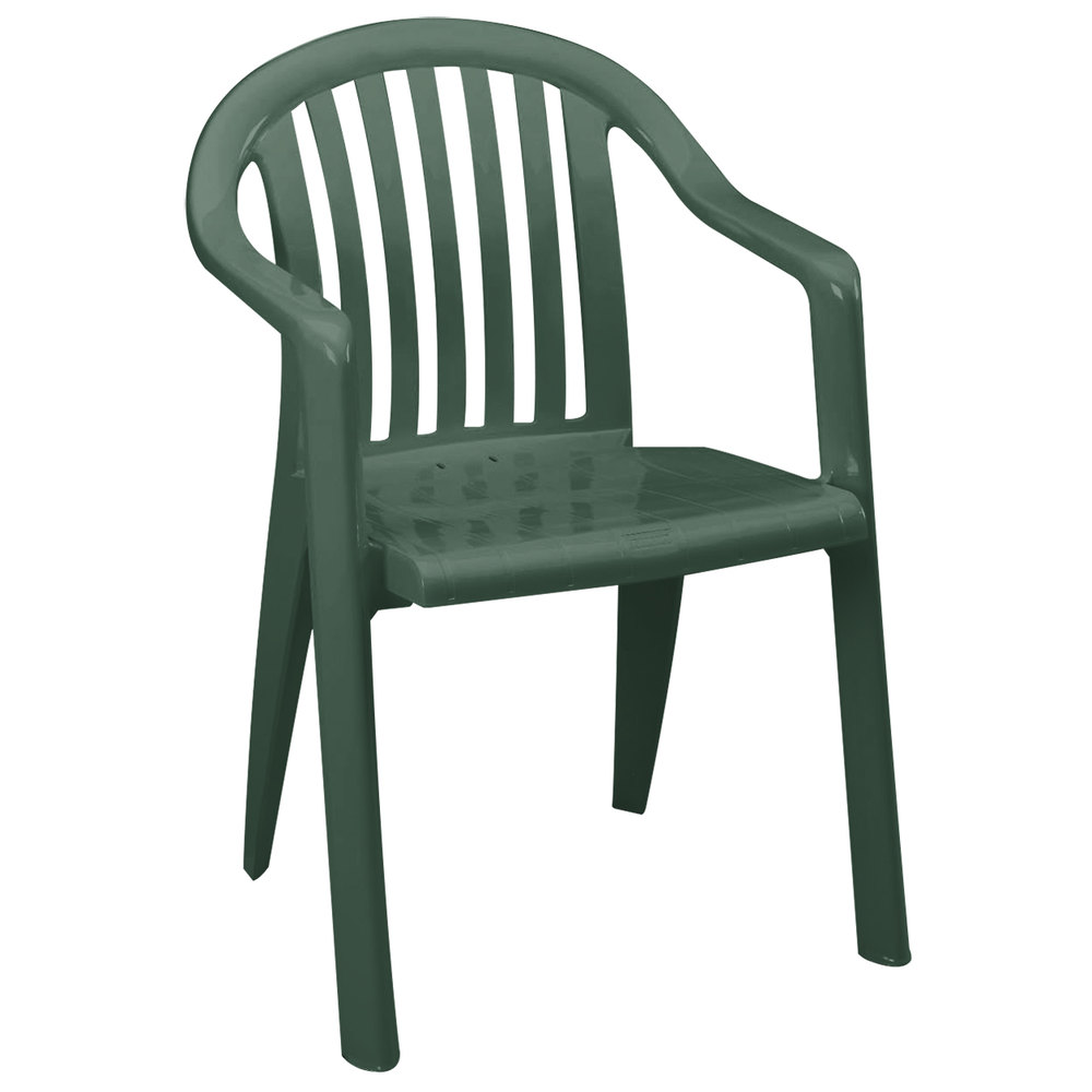 Main Picture  Grosfillex US282378   US023078 Miami Amazon Green Lowback Stacking  . Green Plastic Stack Chairs. Home Design Ideas