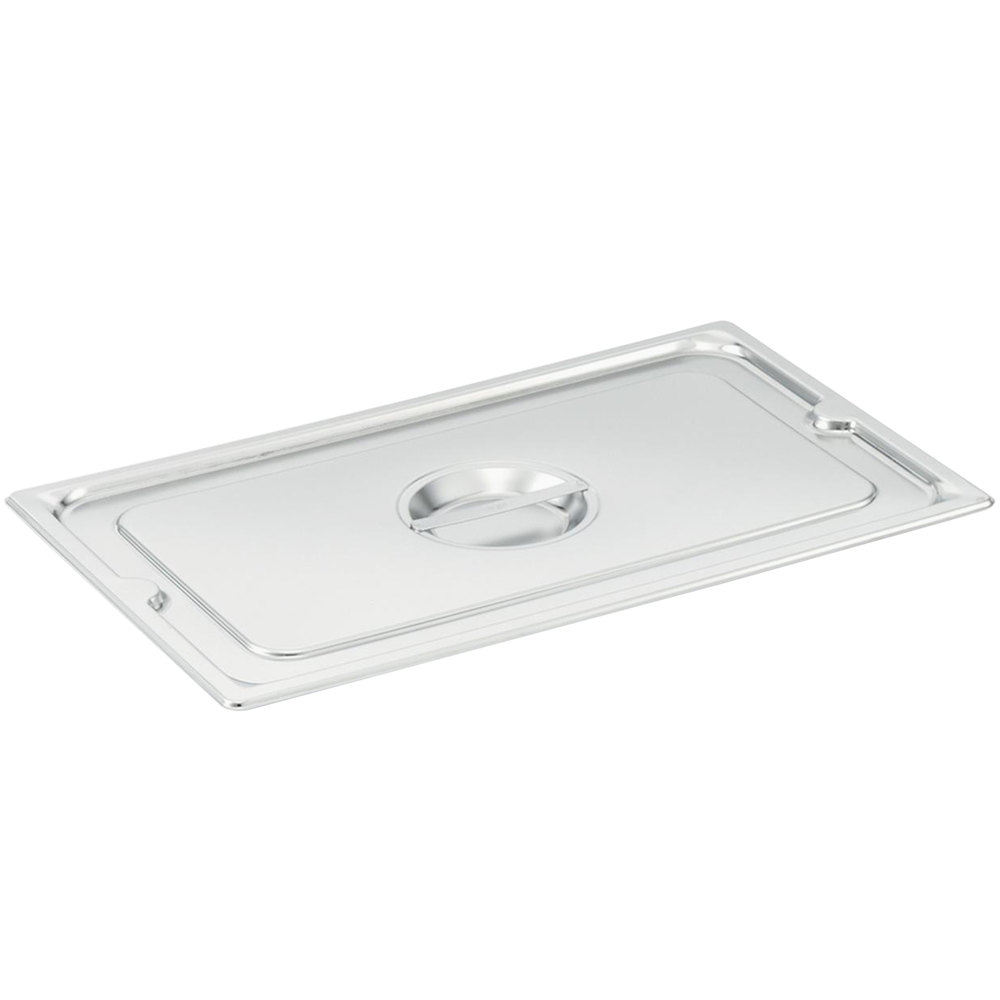Vollrath 93400 1/4 Size Stainless Steel Solid Cover for Super Pan 3