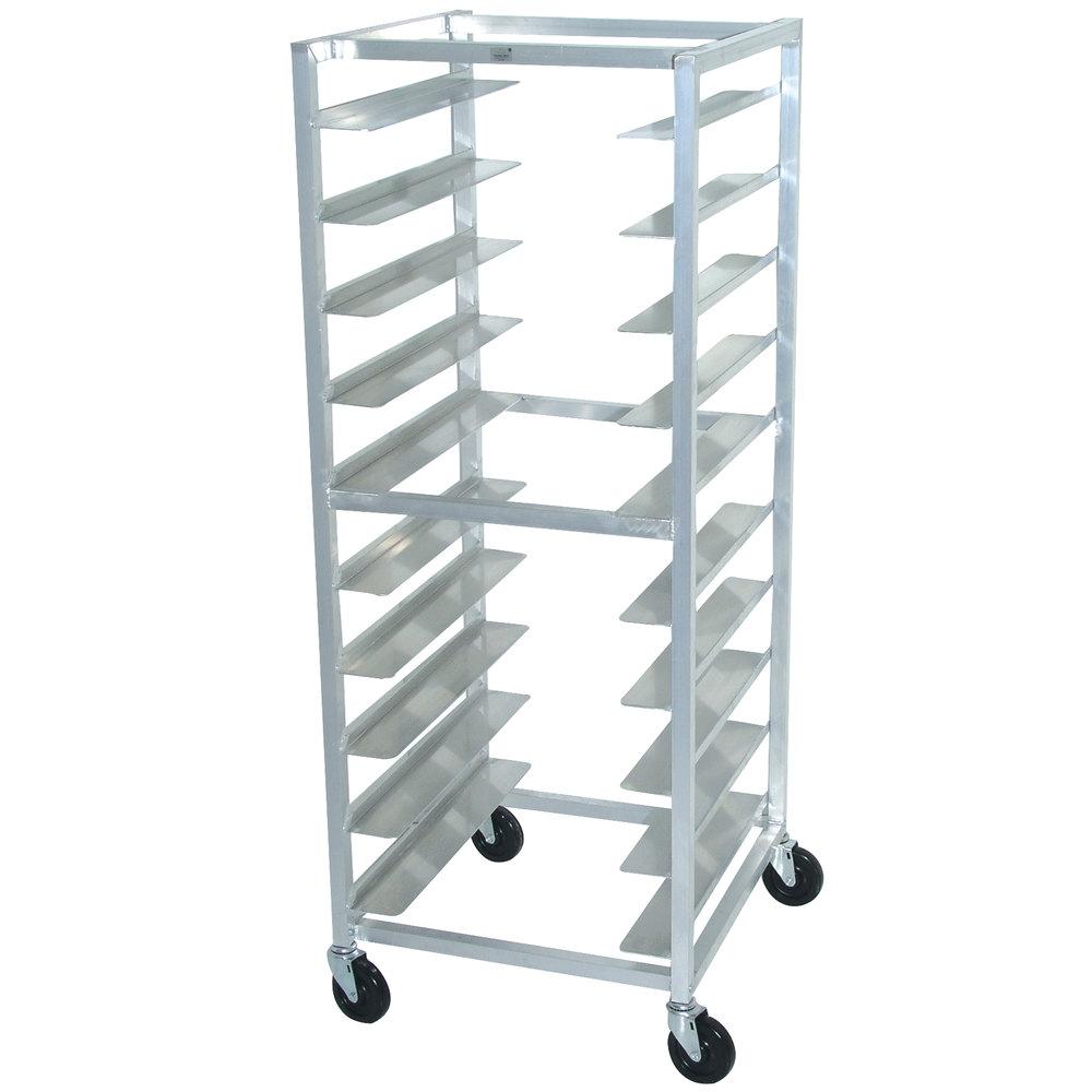 Advance Tabco Ot10 6 10 Pan End Load Oval Tray Rack Assembled