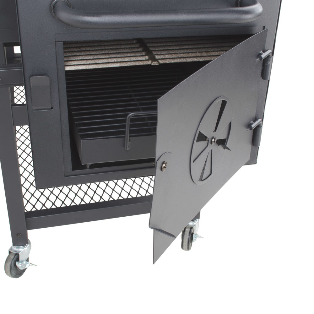 Backyard Pro Portable Outdoor Gas And Charcoal Grill