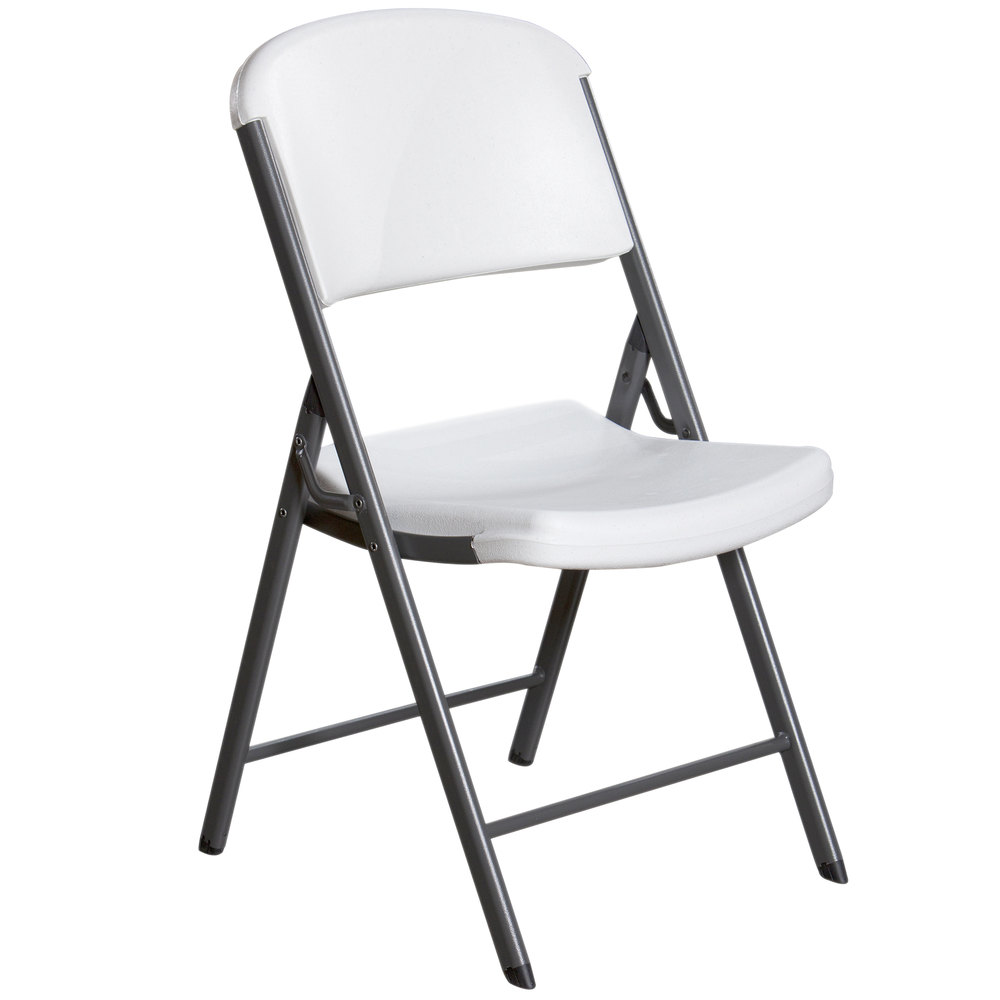 Lifetime 2802 white contoured folding chair - Pizza rapid silla ...