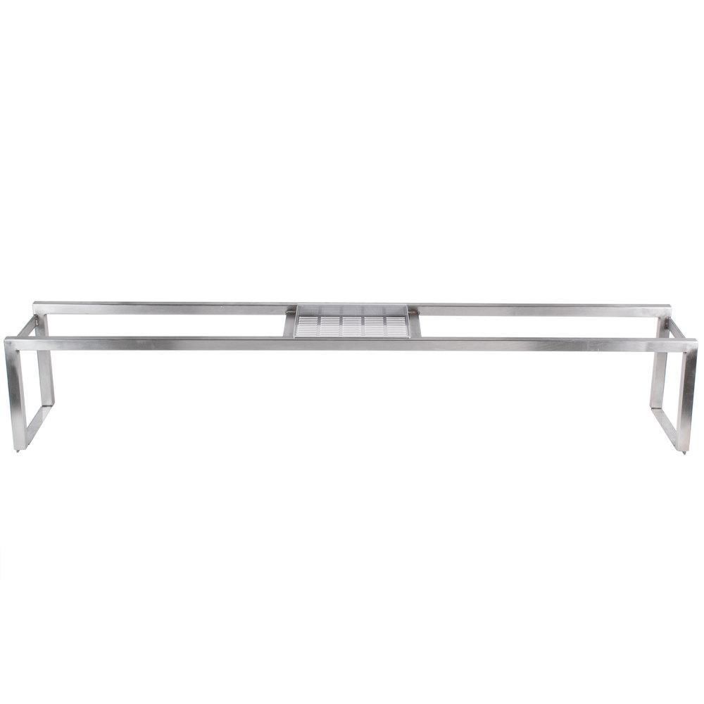 Countertop Shelf : Bakers Pride XX100PT-08 Countertop Charbroiler Overhead Back Shelf
