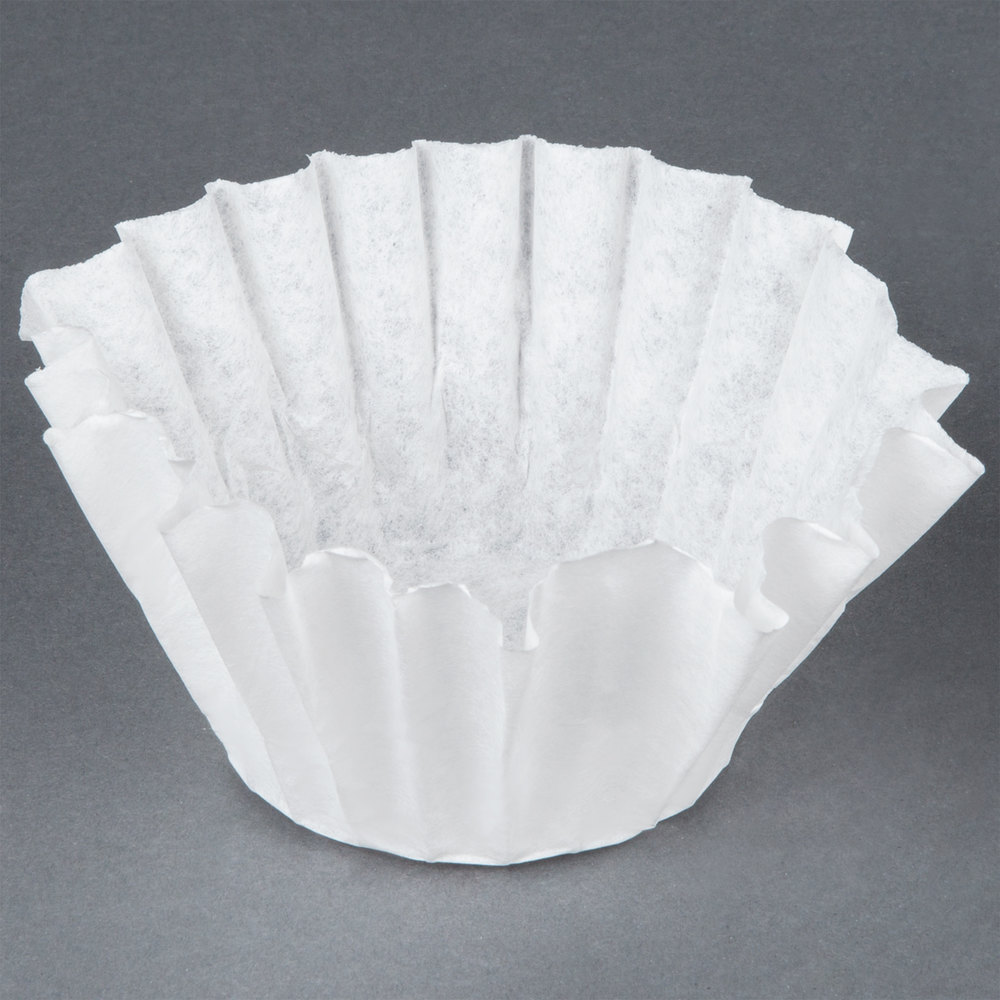 "Bunn 20106.0000 8 1/2"" x 3"" 8 to 10 Cup Decanter Style Coffee Filter - 1000 / Case"