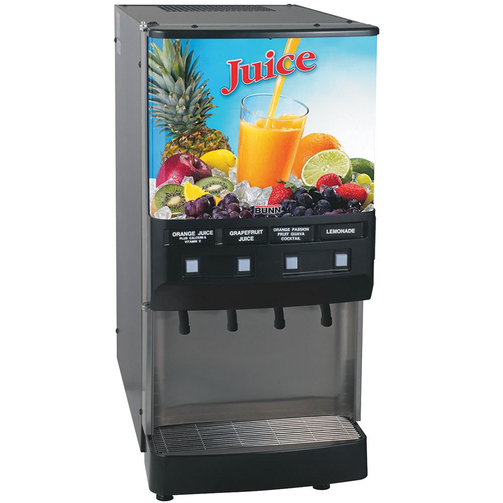 Bunn 37300 0002 Jdf 4s 4 Flavor Cold Beverage Juice