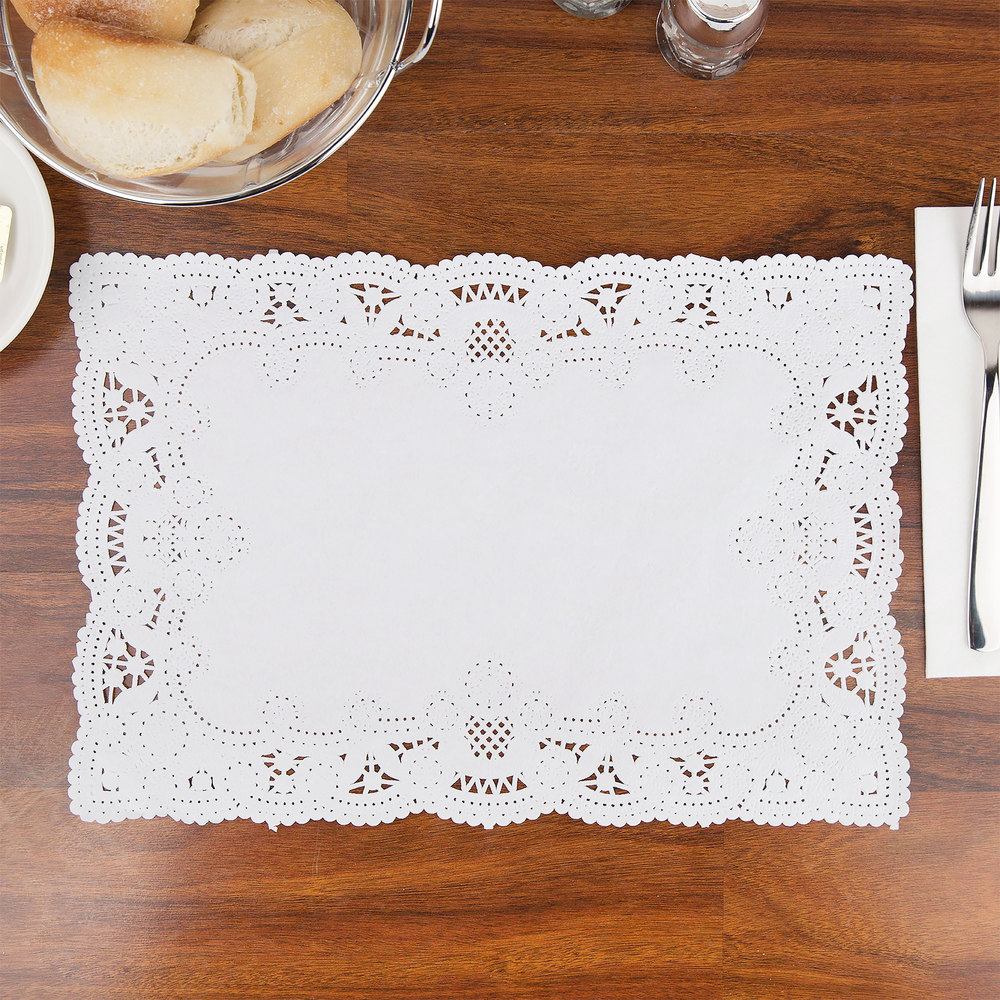 Hoffmaster 310711 10 Quot X 14 Quot White Normandy Lace Paper