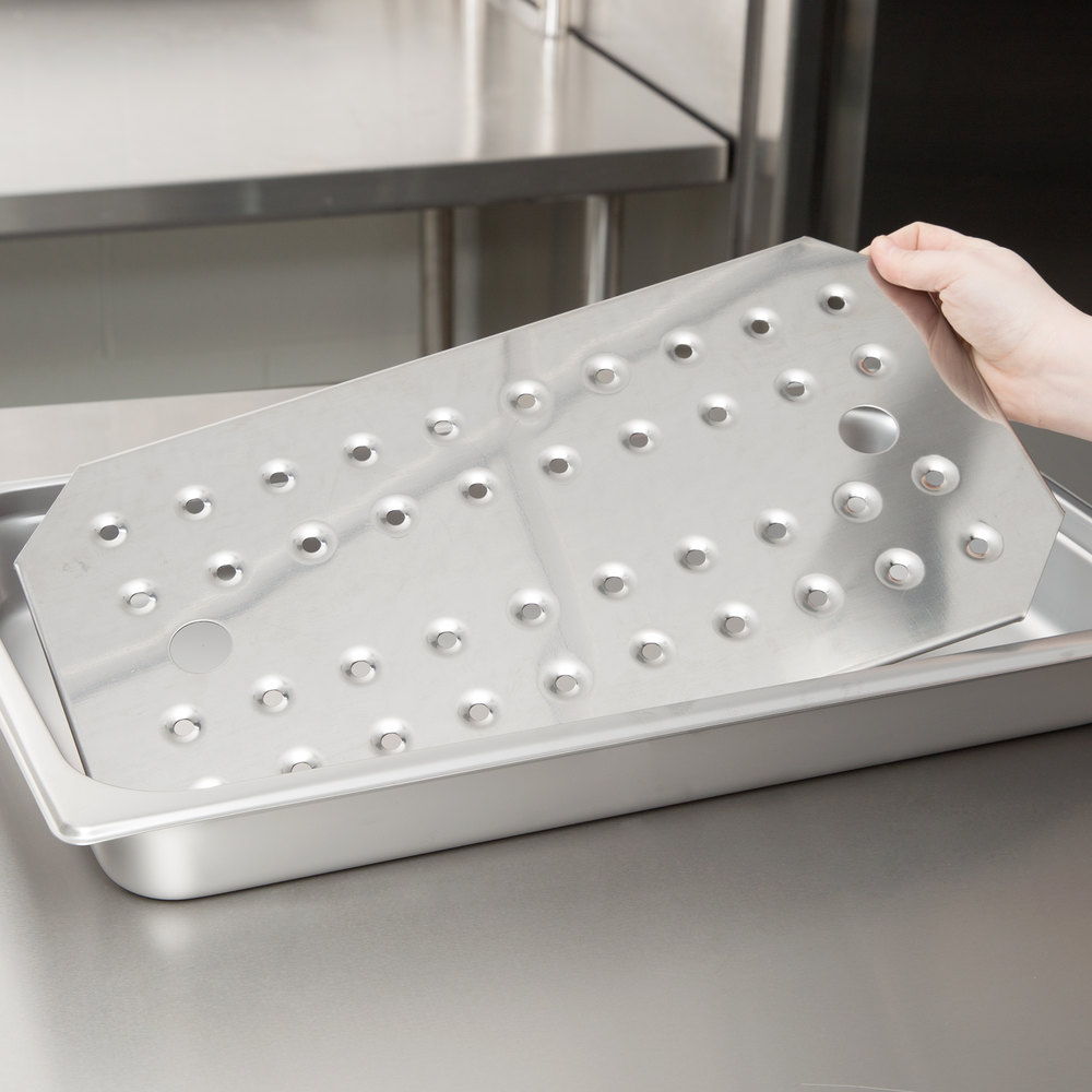 Full Size Stainless Steel Steam Table / Hotel Pan False Bottom