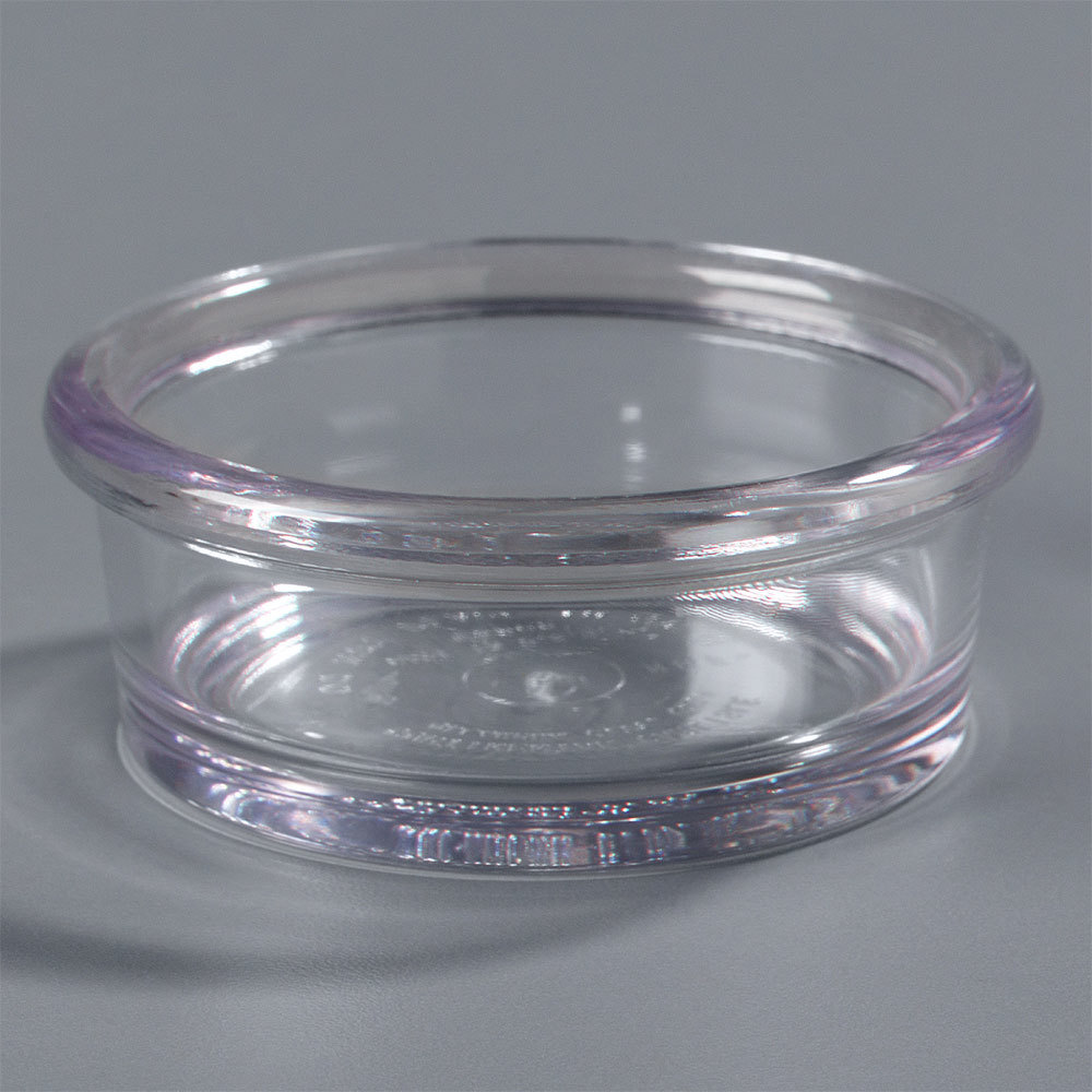 Carlisle 036207 Clear 2.5 oz. Ramekin - 48 / Case