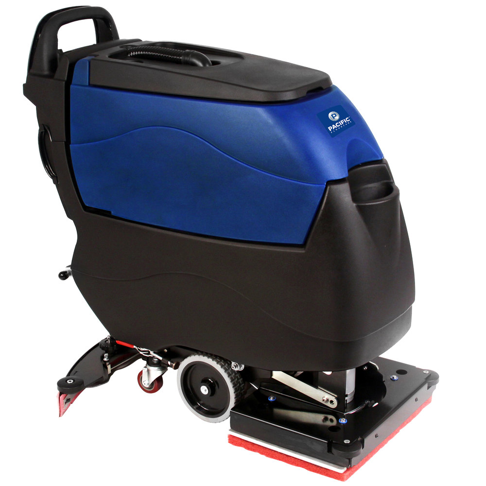 Pacific 855405 s 20 20 walk behind orbital auto floor for Floor scrubber